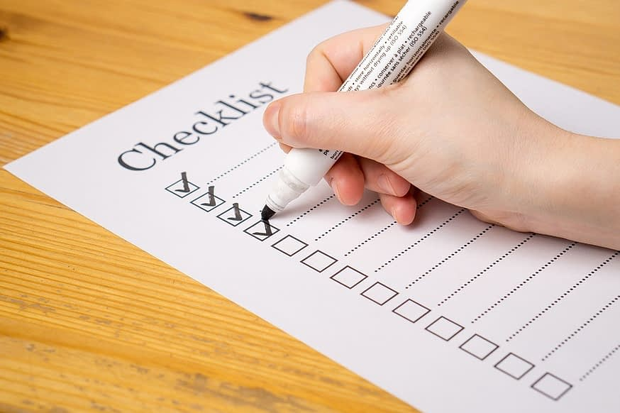 Inspection Forms and Checklist for Assisted Living Facilities